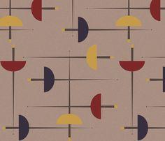 En Guard! - Fencing Epee fabric by owlandchickadee on Spoonflower - custom fabric