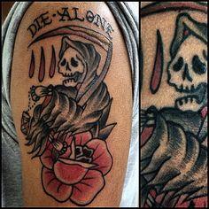 #tattoo #deathtattoo