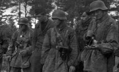 The men of the Wiking Division at the SS-Truppenübungsplatz Heidelager north of Dębica, where the division was refitting and training in May and June 1944.