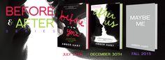 Before & After book series #BookBanner #BannerLove #BookQuotes #BeforeYou #AfterUs #AmberHart #BookLove #BeforeandAfterSeries #Melissa #Javier #Teens #YoungAdult #WeNeedDiverseBooks