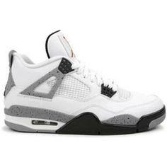 competitive price 00ce1 b892a http   www.anike4u.com  Air Jordan 4 Cement White Black