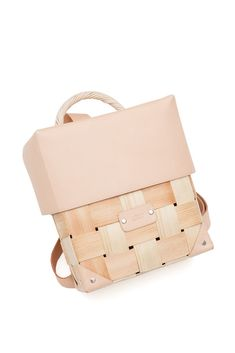 Backpack (front) by Month of Sundays, a Finland label created by designer sisters, Milla and Iina Kettunen.