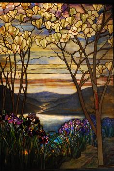 by Louis Comfort Tiffany