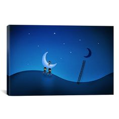 Pablo Stealing the Moon Canvas Art
