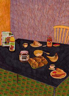 fransk frukost by isabelle bervenius