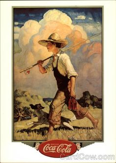 Drink Coca Cola N.C. Wyeth Advertising Reproductions