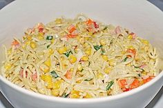 Spaghettisalat 1