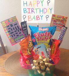 For my boyfriend's 22nd Birthday