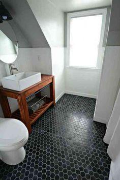 des idées de revêtement de plancher pour la salle de bain ... - Plancher Pour Salle De Bain