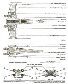 Incom T-65 X-Wing Fighter