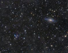 المجرات في كوكبة برشاوس Galaxies in Pegasus