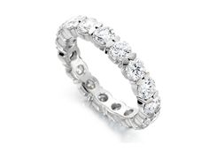Eternity rings London Hatton Garden