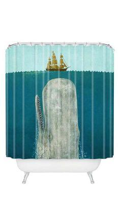 Below Deck Shower Curtain