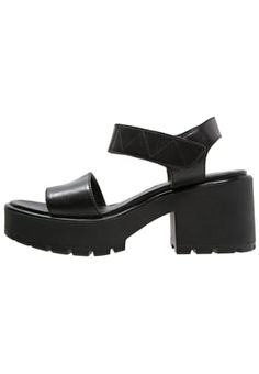 DIOON Sandales à plateforme black