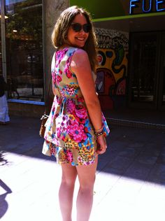 Aniana style, flowers and colors for the summe in Madrid.