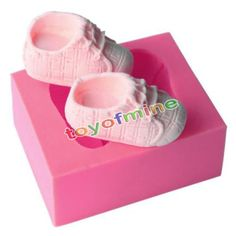 3D-Baby-Shoes-Silicone-Cake-Chocolate-Mould-Fondant-Baking-Mold-Decor