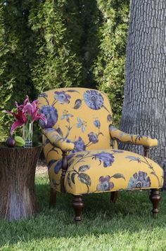 "Furniture, Custom Upholstered Chairs, Chaises ~ ""Calico Corners"""