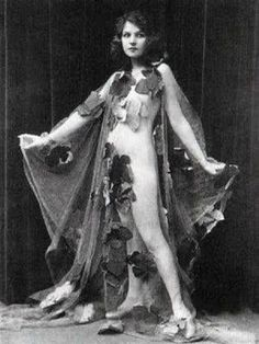 "Ziegfeld Girl ~ Kay Laurell ~ – Appeared nude in the Ziegfeld Follies as ""September Morn"" ( Photo Performed in Ziegfeld Follies of and September Morn, Olive Thomas, Folies Bergeres, Dolly Sisters, Ziegfeld Girls, Ziegfeld Follies, Theatre Nerds, Lonely Heart, Art Model"