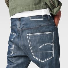 G-Star RAW | Men | ジーンズ | Us First Chain Classic Tapered Jeans , 3d Raw
