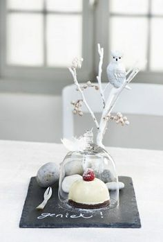stolp kerst dessert tak wit ♥ by ruby