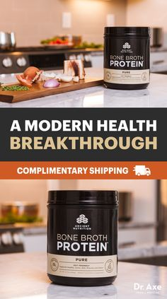 Get Complimentary Shipping On The FIRST EVER All-Natural Bone Broth Protein.