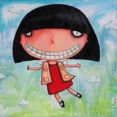 "Saatchi Art Artist Nicolás da Rocha; Painting, ""Soy un angelito"" #art"