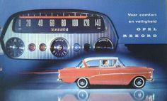Opel Rekord P1 brochure