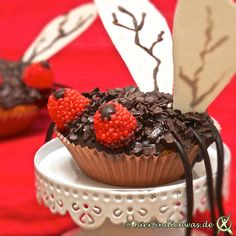 Muffin Rezept Fliege mit Schokomuffin