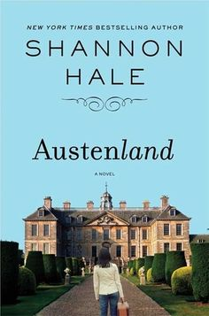 STAFF PICK! Austenland / Shannon Hale ~ Jane Hayes is a seemingly normal young New Yorker, but she has a secret. Her obsession with Mr. Darcy, as played by Colin Firth in the BBC adaptation of Pride and Prejudice, is ruining her love life: no real man can compare. But when a wealthy relative bequeaths her a trip to an English resort catering to Austen-crazed women, Jane's fantasies of meeting the perfect Regency-era gentleman suddenly become realer than she ever could have imagined.