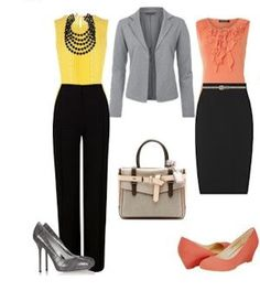 Women office outfit!