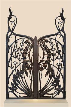 Grille art nouveau du ferronnier Emile Robert (musée de l'Ecole de Nancy) | Flickr - Fotosharing!