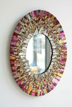 Awesome colors! Mirror by Ariel Finelt Shoemaker