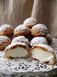 Dunes blanches du Cap-Ferret - Choux craquelins et crème chantilly