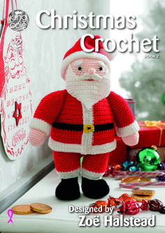 Welcome to the second festive collection of crochet. In this book you will find Father Christmas, Rudolph and a Snowman - King Cole