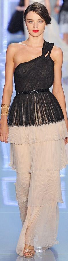 Christian Dior ~ Spring 2012 RTW. Really like the black