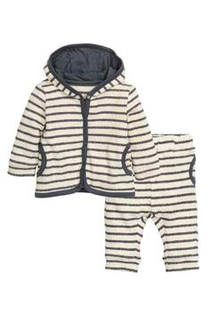 H&M - Hooded jacket and trousers £17.99