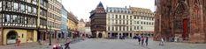 Juli_e_cycle à Strasbourg avec toutes ses places plus belles que les autres. #velo #bicyclette #veloelectrique #ebike #vae #tourdefrance #cyclingtour #cyclotourisme #RestartCycleTourism #strasbourg #cathedrale #capitalevelo #voieverte #cyclingtour #juli_e_cycle #velafrica