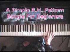"""A Super-Simple Right Hand Pattern To Use With The """"Walk-The-Stairs"""" Left Hand Boogie Pattern - YouTube"""