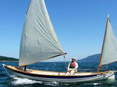 The gorgeous Iain Oughtread designed Caledonian Yawl. I'd probably swap my Halberg Rassy for one of these!
