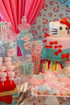 Hello Kitty Party #hellokitty #party