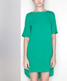Beautifully green Uterque dress