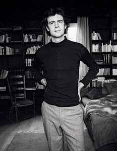 Patrick Modiano, c. 1972 © Louis Monier/Bridgeman Images