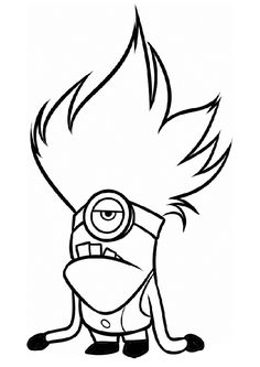 26 Best Coloring Pages Minions Images Coloring Pages Minions