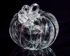 Lynn Schnaufer on Etsy Halloween Home Decor, Halloween House, Create Yourself, Finding Yourself, Glass Pumpkins, One More Step, Unique Gifts, Thanksgiving, Autumn