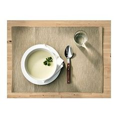 IKEA - MÄRIT, Place mat, Protects the table top surface and reduces noise from plates and cutlery.