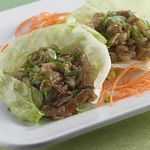 Lettuce Wraps with Spiced Pork                          (Diabetic Connect recipe)