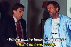 House and Wilson, better friendship than Butch and Sundance
