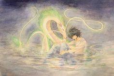 L and Haku.     http://blogs.yahoo.co.jp/ogino_toratora22_milkyway