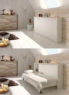 IKEA - MIDSUND, Zidni krevet, , 10-godišnja garancija. Pročitajte ...
