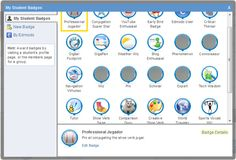 Edmodo student badges- suggestions and examples